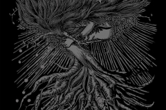 T shirt design artwork by giovanni tamponi - rise of doom france band