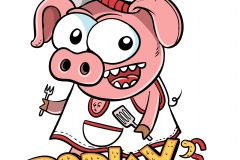 Porky's BBQ - Barbecue's comic pigs
