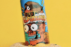 Superturbo Boomtown Brewery beer designed by Joe Tamponi