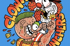 Clown-Punchers-Sticker-designed-by-Joe-Tamponi-Illustrations