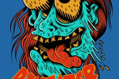 Day_eater-drawn-by-Joe-Tamponi-Creepy-Funny-llustrations-inspired-by-punk-rock-surfing-and-skateboarding-world