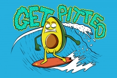Get-Pitted-drawn-by-Joe-Tamponi-Creepy-Funny-llustrations-inspired-by-punk-rock-surfing-and-skateboarding-world