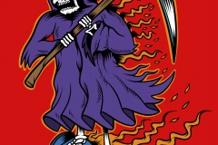 Hover_board_Reaper-drawn-by-Joe-Tamponi-Creepy-Funny-llustrations-inspired-by-punk-rock-surfing-and-skateboarding-world