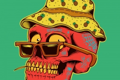 Maracaibo-drawn-by-Joe-Tamponi-Creepy-Funny-llustrations-inspired-by-punk-rock-surfing-and-skateboarding-world