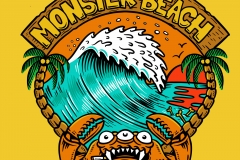 Monster-Beach-designed-by-Joe-Tamponi-Illustrations