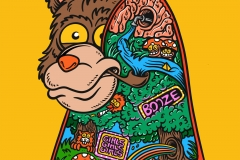PSychedelic-Bear-designed-by-Joe-Tamponi-Illustrations