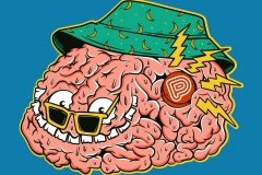 Push-Agency-_lightning-brain-drawn-by-Joe-Tamponi-Creepy-Funny-llustrations-inspired-by-punk-rock-surfing-and-skateboarding-world