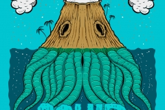Welcome_to_Squid_Island-drawn-by-Joe-Tamponi-Creepy-Funny-llustrations-inspired-by-punk-rock-surfing-and-skateboarding-world
