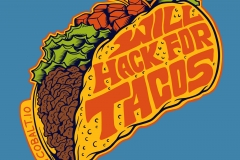 Will-Hack-for-tacos-drawn-by-Joe-Tamponi-Creepy-Funny-llustrations-inspired-by-punk-rock-surfing-and-skateboarding-world